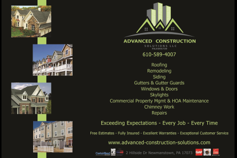Advanced Construction Solutions, LLC